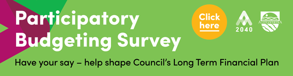 Participatory Budgeting Survey click here