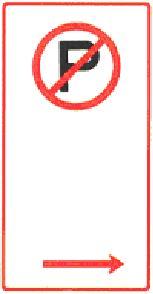 Parking sign - no parking
