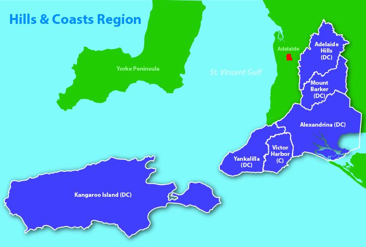 RH&C climate region map